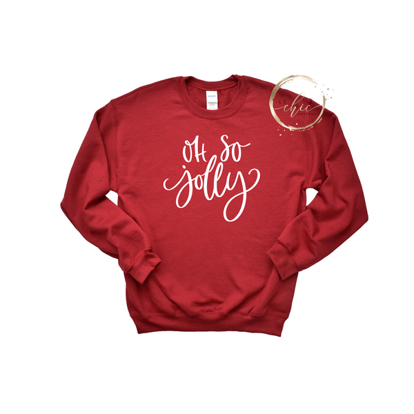 Oh so Jolly Crewneck