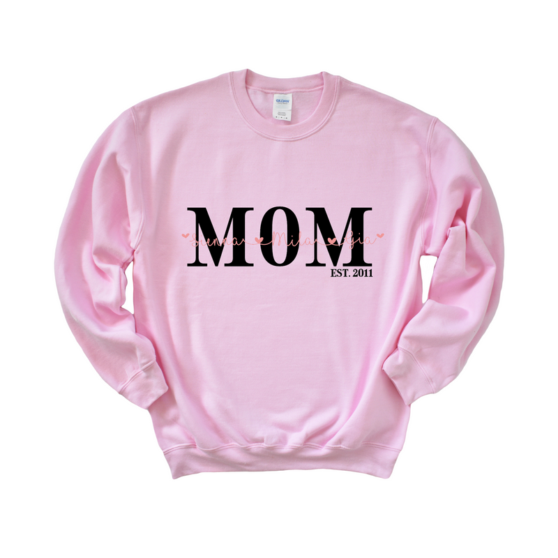 Personalized Mom Crewneck