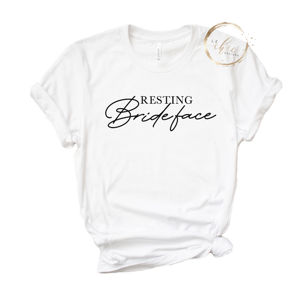 Resting Bride Face T-Shirt