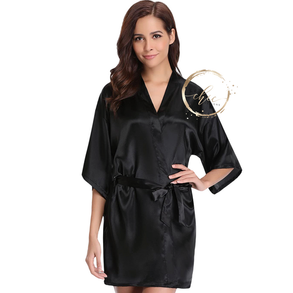 Aria Satin Robe Personalized