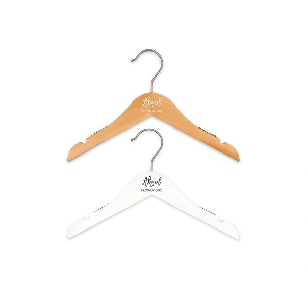 Girl's Custom Personalized Hanger