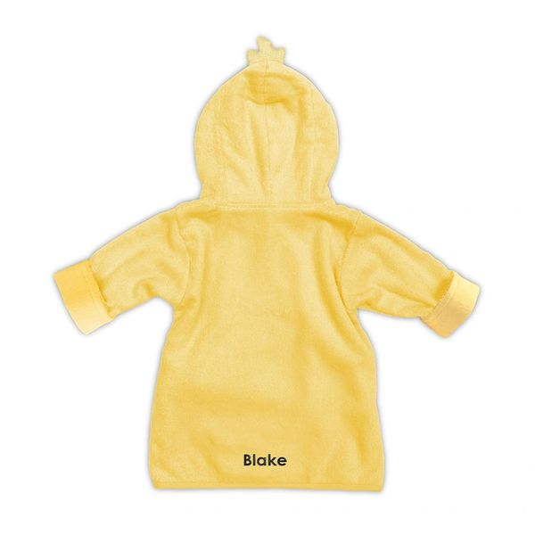 Yellow Duck Hooded Bathrobe