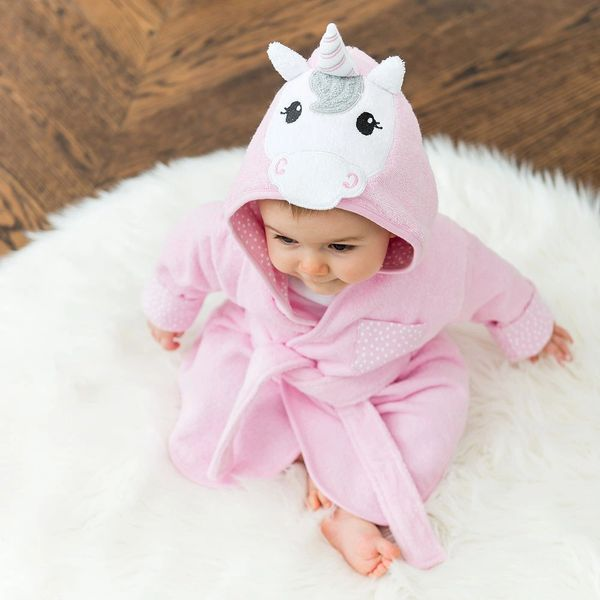 Unicorn lover Hooded Bathrobe