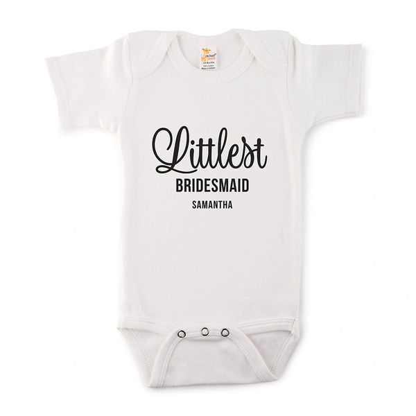 Littlest Bridesmaid Onesie