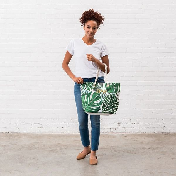 Greenery Tote Canvas Bag