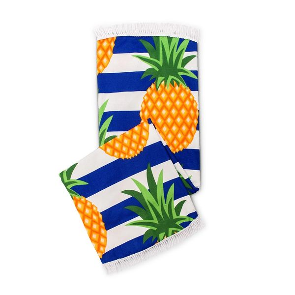 Pineapple Large Beach Towel