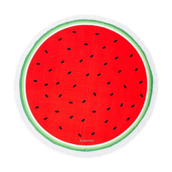 Watermelon Large Beach Towel