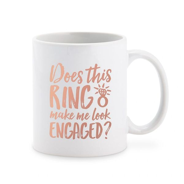 Engaged Personalized Mug