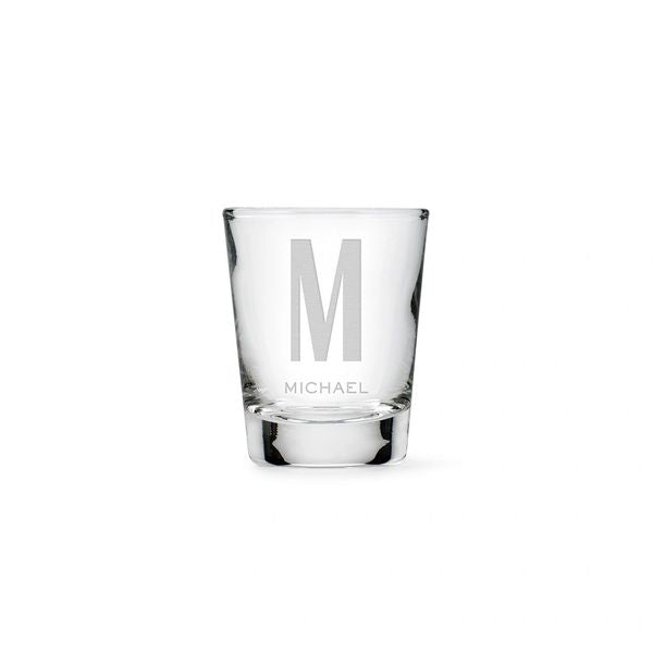 Personalized Shot Glass-Monogram
