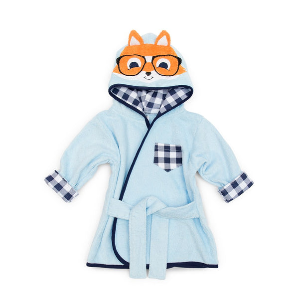 Fox Hooded Bathrobe