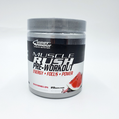 Inner Armour, MUSCLE RUSH, Fruit Punch, 168 grams