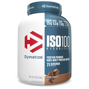Dymatize Nutrition, ISO100 Hydrolyzed, 100% Whey Protein Isolate, Gourmet Chocolate, 5 lb (2.3 kg)
