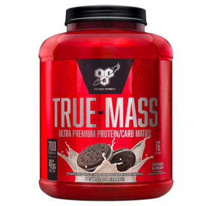 BSN, True Mass, Cookies and Cream, 5.82 LB (2.64 KG)