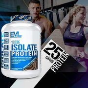 EVLution Nutrition, 100% Isolate Protein, Double Rich Chocolate, 4 lb (1814 g)