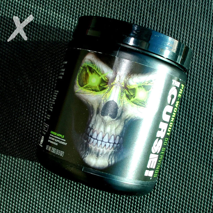 JNX Sports, The Curse, Pre-Workout, Green Apple, 8.8 oz (250 g)