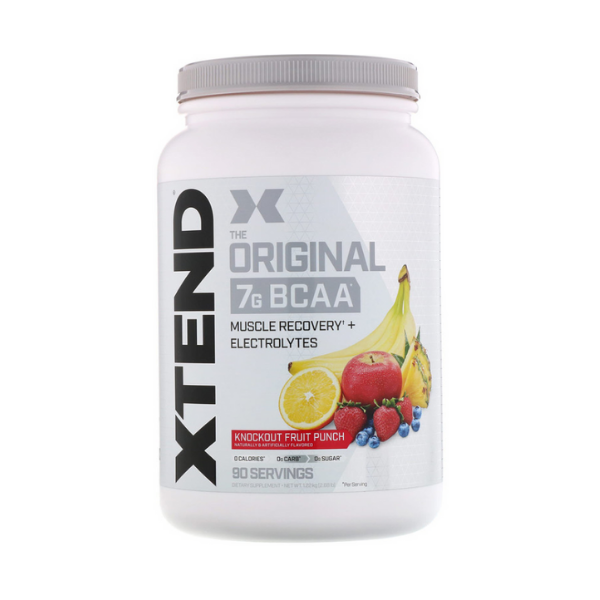 Scivation, Xtend, The Original BCAA, Knockout Fruit Punch