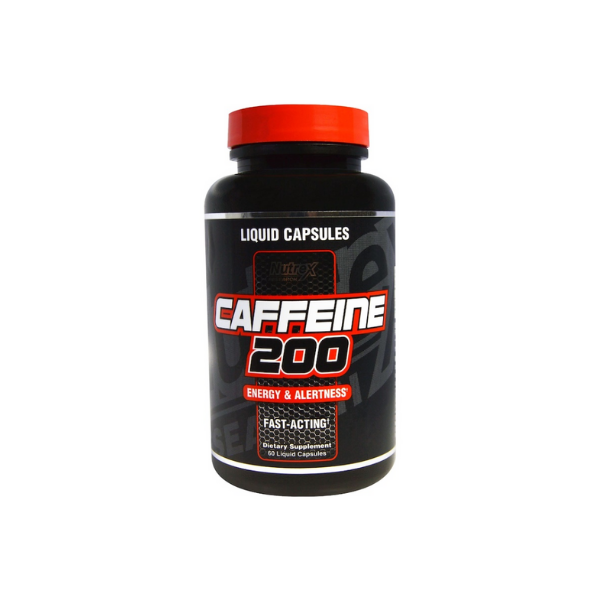 Nutrex Research, Caffeine 200, Energy & Alertness, 60 Liquid Capsules