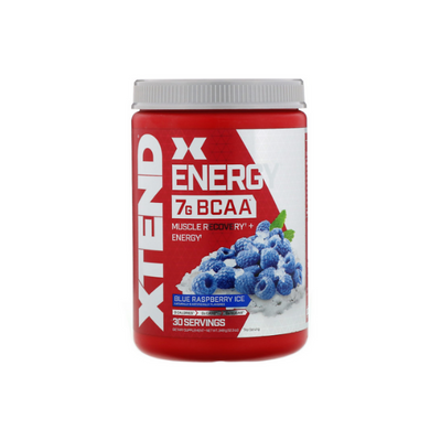 Scivation, Xtend Energy, BCAA, Blue Raspberry