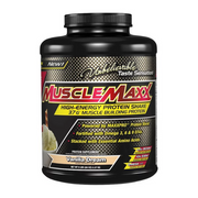 MuscleMaxx, High Energy + Muscle Building Protein, Vanilla Dream, 5 lb (2.27 kg)