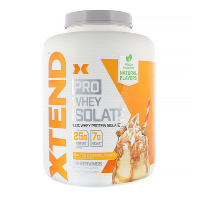 Scivation, Xtend Pro, Whey Isolate, Salted Caramel Shake