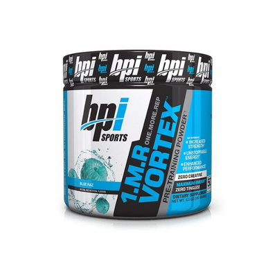 BPI SPORTS, M.R VORTEX. 1, Pre-Workout Powder, BLUE RAZ, 5.3 OZ (150 G)