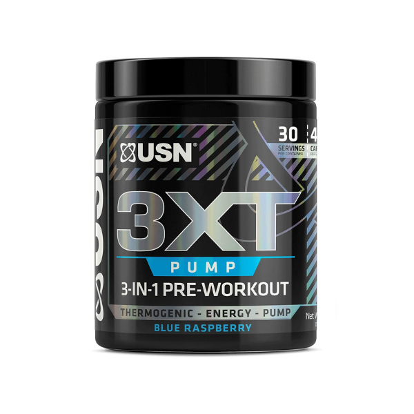 USN, 3XT-Pump, Pre-Thermo, Blue Raspberry, 6.56 OZ (186 G)
