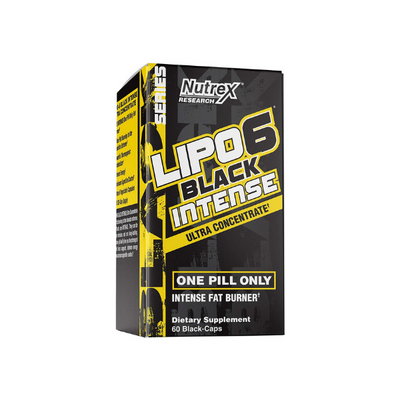 Lipo-6 Black Intense Ultra Concentrate, 60 BLACK - CAPS