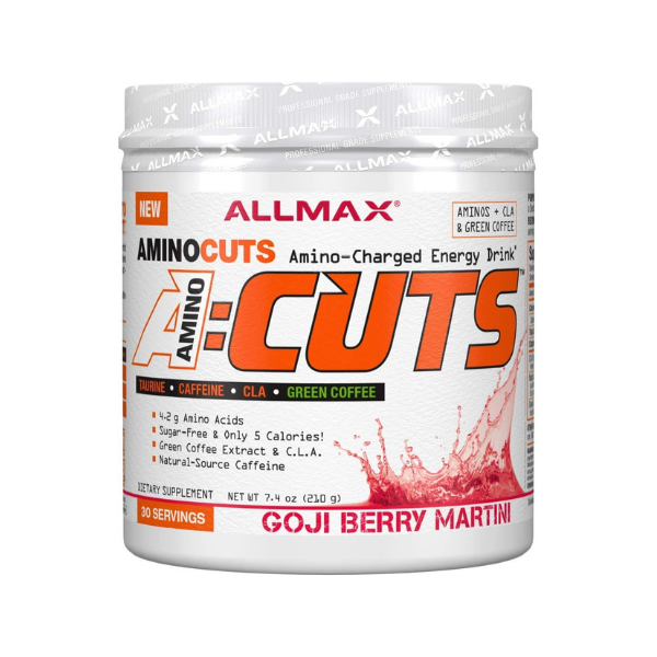 ALLMAX Nutrition, ACUTS, Amino-Charged Energy Drink, Goji Berry Martini, 7.4 oz (210 g)