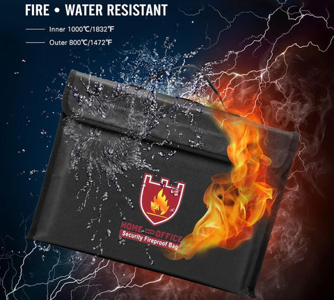 FIREPROOF DOCUMENT SAFETY POUCH - Broadwaytrending Shop