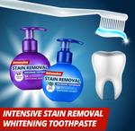 Stain-Free Teeth Whitener Toothpaste - Broadwaytrending Shop