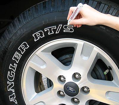 Waterproof, Non-Fading for one year Tire Paint Pen - Broadwaytrending Shop