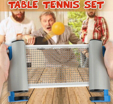 Anywhere Retractable Table Tennis - Broadwaytrending Shop