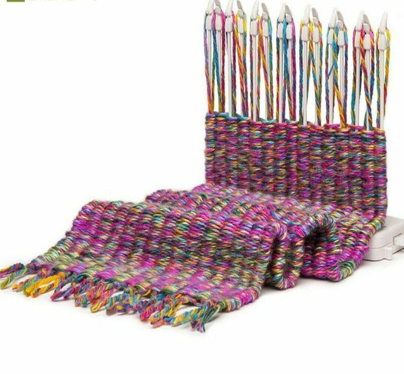 Scarf Knitting Machine Loom Knitter Knit Craft Tool - Broadwaytrending Shop