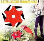 6 steel razors trimmer head - Broadwaytrending Shop