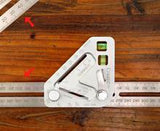 Angle Ruler A revolutionary carpentry tool-Better Tool Multi-function Measuring - Broadwaytrending Shop