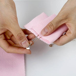 Jewelry Professional Cleaning Polishing Cloth(2 Pcs) - Broadwaytrending Shop