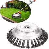 Solide-SteelPRO™ Garden Weed Brush Lawn Mower Best Tool - Broadwaytrending Shop