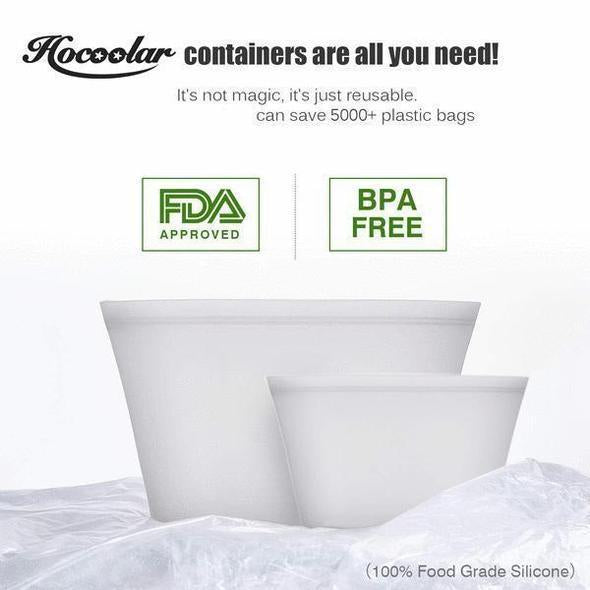 Zip Lock Leakproof Containers-Completely Plastic-Free - Broadwaytrending Shop