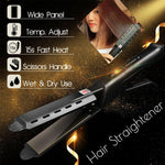Ceramic Tourmaline Ionic Flat Iron Hair Straightener - Broadwaytrending Shop