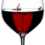 SHARK RED WINE GOBLET - Broadwaytrending Shop
