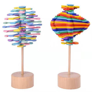 Magic Wand Stress Relief Toy Rotating Lollipop - Broadwaytrending Shop