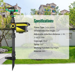 Motion-Activated Sprinkler Repeller - Broadwaytrending Shop
