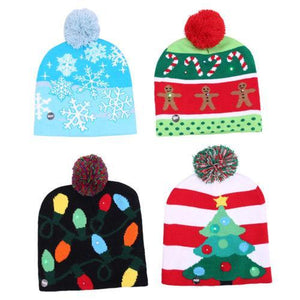 LED Christmas Beanie - Broadwaytrending Shop