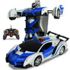 GESTURE CONTROL TRANSFORMATION RC ROBOT STUNT CAR - Broadwaytrending Shop