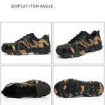 Summer Work & Safety Boots Construction Men Camouflage Puncture Proof Breathable Indestructible Safety Shoes Steel Toe Plus 48 - Broadwaytrending Shop