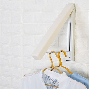 Folding Retractable Clothes Rack - Broadwaytrends shop