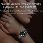 BLACKY LEATHER SMARTWATCH - EXPLORE YOUR ACTIVITIES WITH NEW TECHNOLOGY - Broadwaytrending Shop