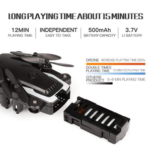 Mini Folding Unmanned Aerial Vehicl - Broadwaytrending Shop