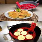 Creative Silicone Omelette Mould Pancake Fried Egg Ring Mold Kitchen - Broadwaytrending Shop