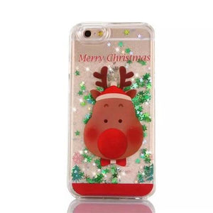 Glitter Christmas Phone Case - Broadwaytrends shop